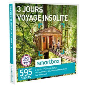 COFFRET SÉJOUR Coffret Cadeau - 3 jours - Voyage insolite - Smart