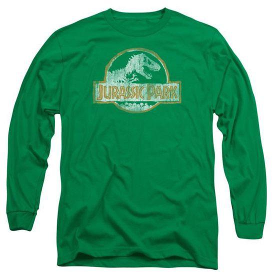 Jurassic Park Hommes Jp Orange L S 18 1 Vert Kelly Xl 1it0a2