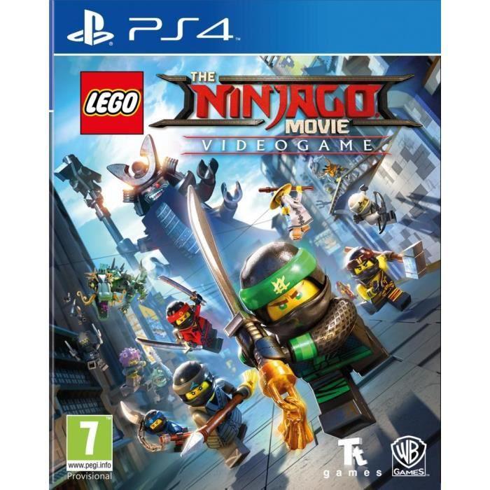 Lego ninjago le film le jeu video sur ps4 achat vente jeu ps4 lego ninjago ps4 cdiscount - Jeux de lego sur jeux info ...