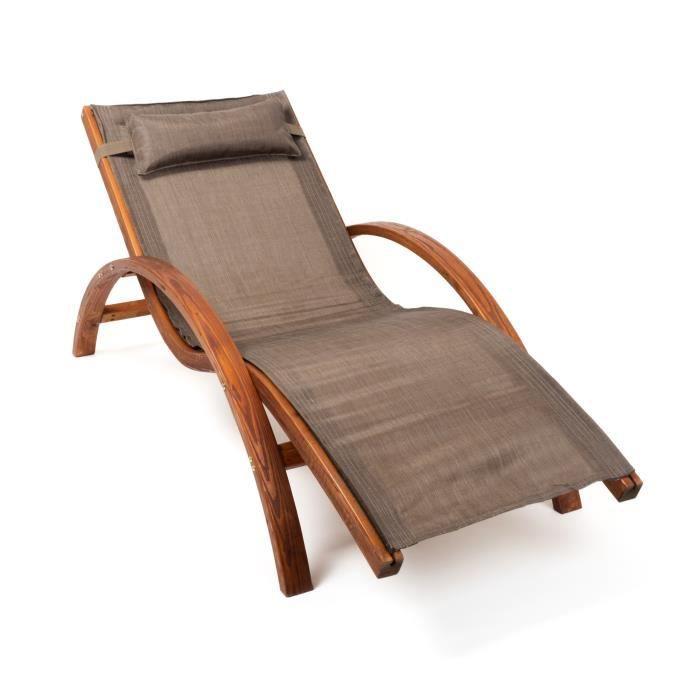 Ampel 24 Chaise Longue De Jardin TROPICA