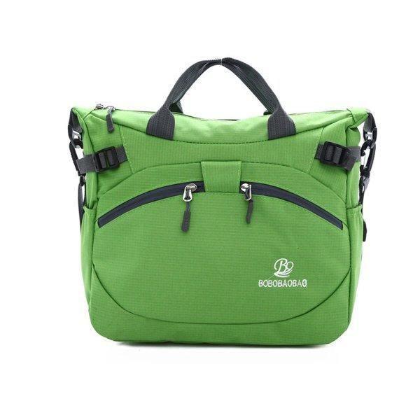 SBBKO4755Femmes hommes en plein air sacs à main en nylon sacs à bandoulière imperméable occasionnels Crossbody Vert