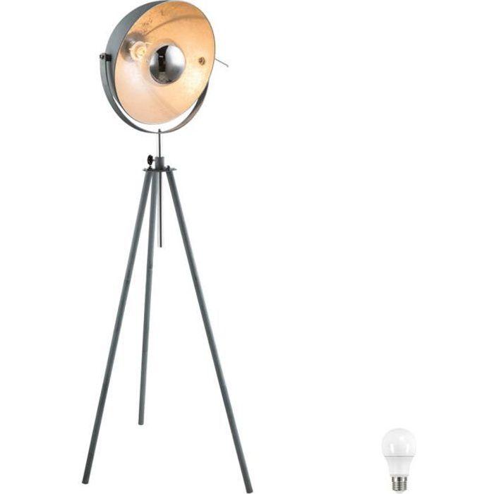 lampe salon haute sur pied achat vente pas cher. Black Bedroom Furniture Sets. Home Design Ideas