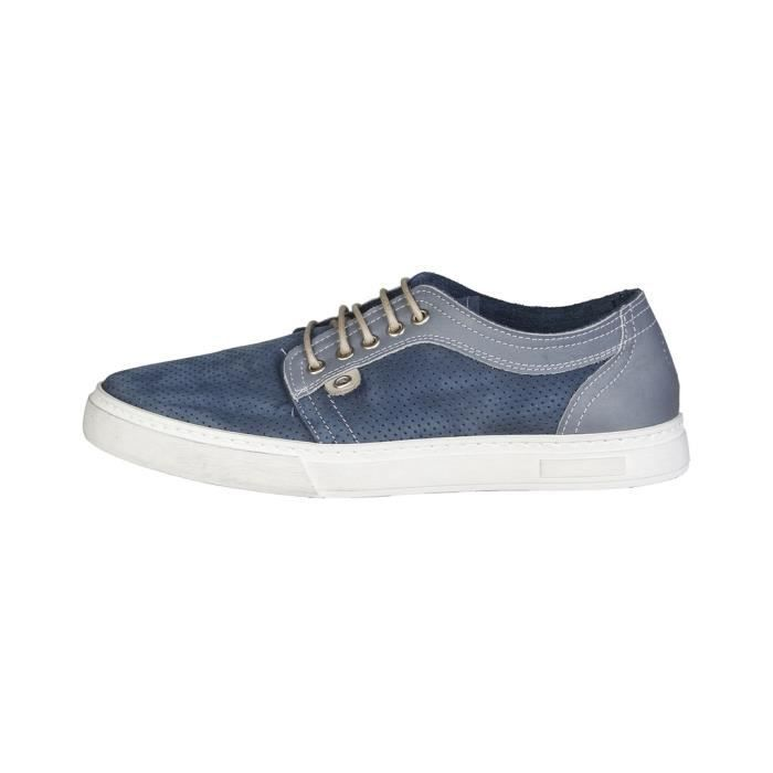Made in Italia - Baskets pour homme (SAMUELE_NAVY) - Bleu