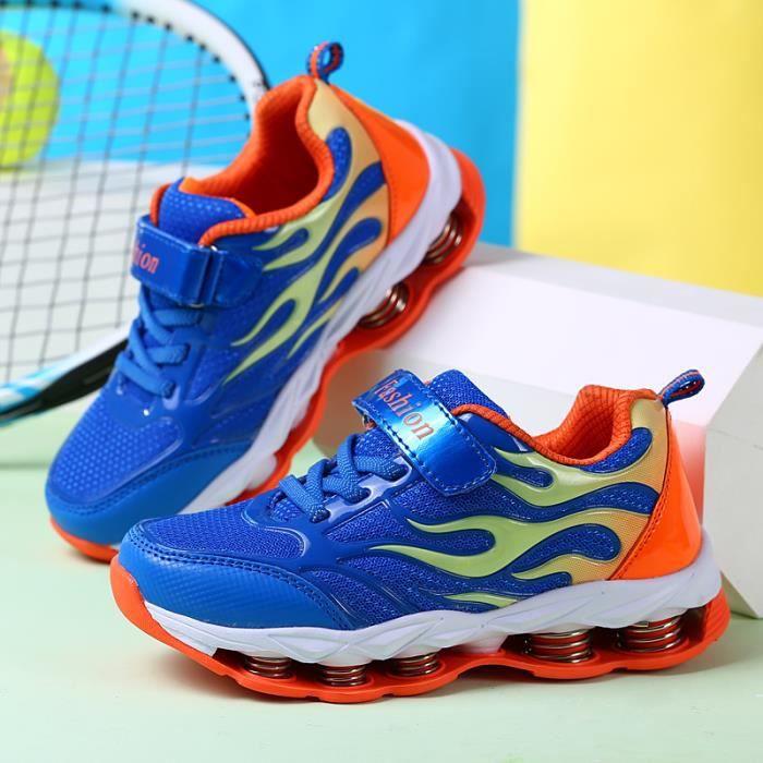Nouveaux enfants Chaussures filles garçons Baskets enfants mode Running Sneakers Casual Tenue de sport confortable en maille respir