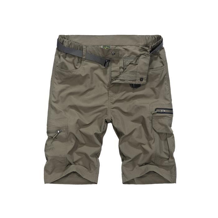 Montagne Pantalon Homme Sport à Extérieures Séchage Camping Trekking Court Rapide Randonnée Déperlant Shorts Respirant 7t4vtwqr