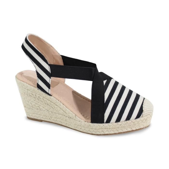 Sandale Style Plateforme Avec By Marin Shoes Femme HAnfw5qpx