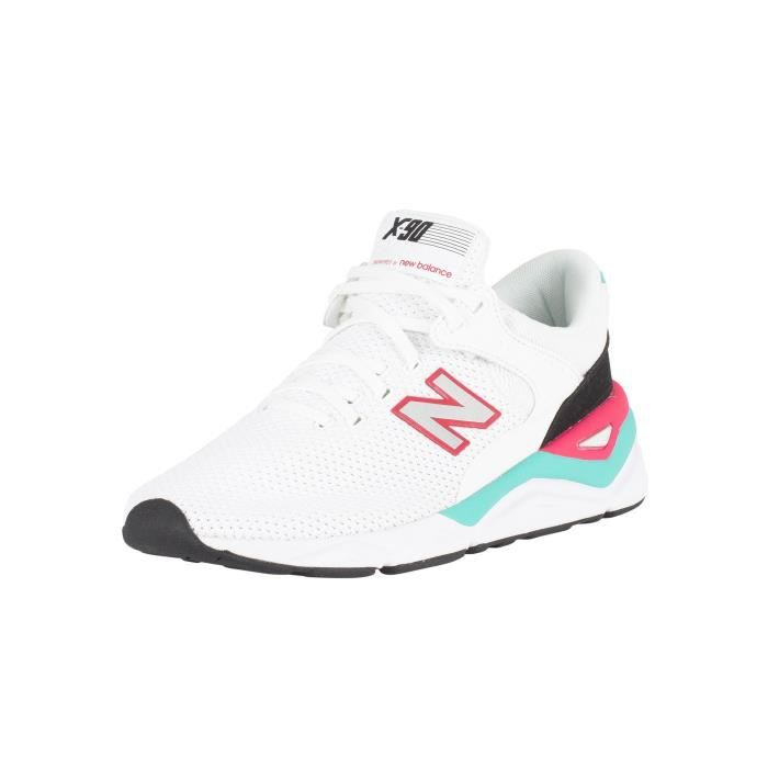 Homme Achat 90 New Balance TrainersBlanc Vente X byvY6gf7