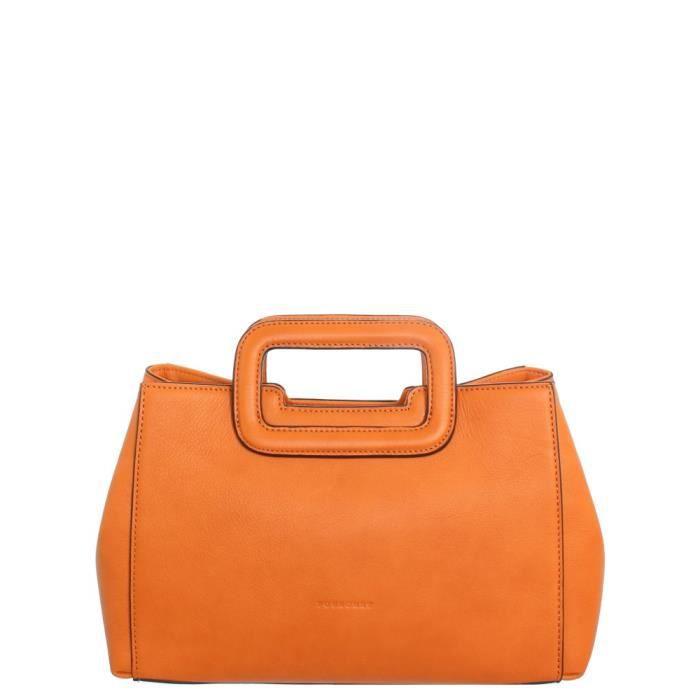 Cuir pou43176 Orange À 20 Main 11 En 30 Pourchet Ref Sac 8nOkwP0