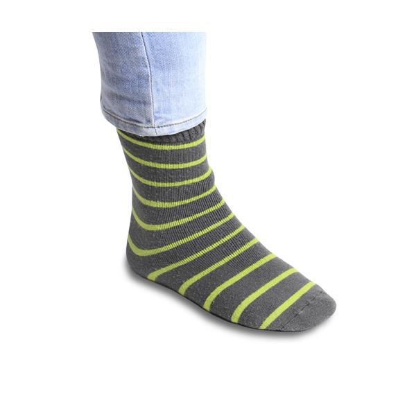Chaussettes Thermiques à Rayures - Warmawear™ (Moyenne / Grande) EcOUW