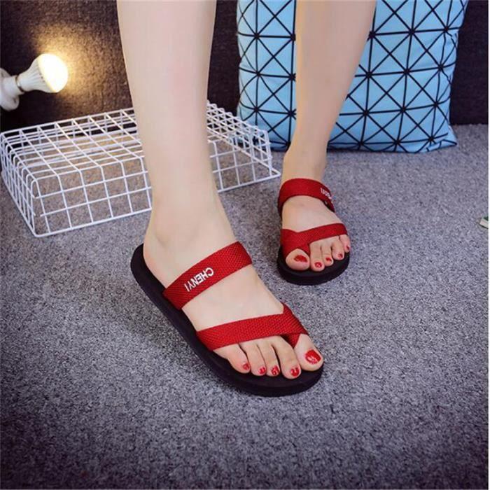 Femmes Sandale de Marque De Luxe 2017 Ete Antidérapant Cool De Durable Poids Sandales Femme Nouvelle Mode Plus Grande Taille 36-39 USNEC0