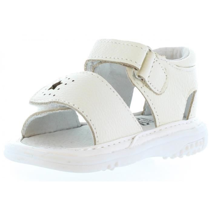 Sandales pouretHappy Bee B132834-B1153 WHITE