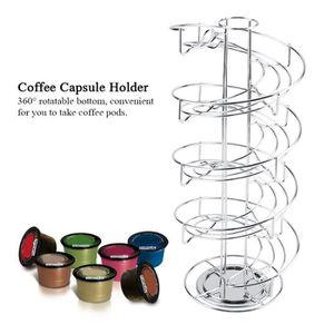 DISTRIBUTEUR CAPSULES Support à Capsules de Café en Métal Porte Capsules
