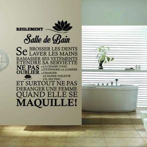 Stickers salle de bains achat vente pas cher for Stickers salle de bain pas cher