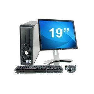ORDINATEUR TOUT-EN-UN Lot PC DELL Optiplex 760 SFF Core 2 Duo E7400 2,8G