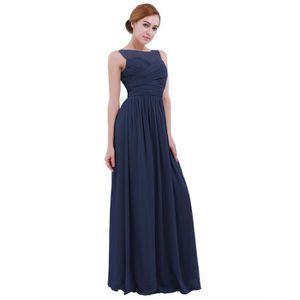 7bff796416c2d ROBE DE CÉRÉMONIE Robe longue Femme cérémonie mariage - Sans Manches ...