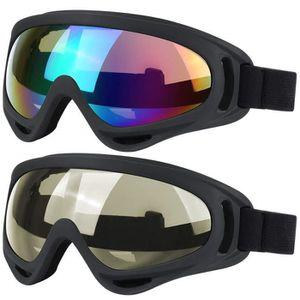 361aa93276241f LUNETTES DE SPORT Lot de 2 paires de lunettes pour ski, snowboard, s