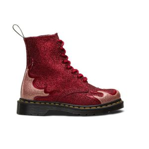 BOTTINE Boot Dr Martens 1460 Pascal Flame Rouge
