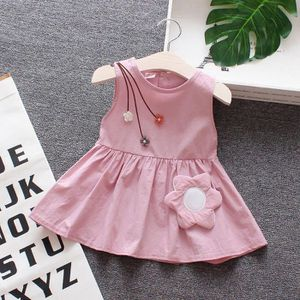 ce57bf6623982 ROBE Tout-petit Enfant Bébé fille robe à manches courte