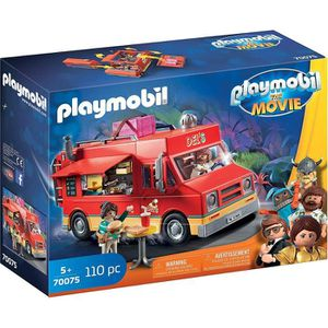 FIGURINE - PERSONNAGE PLAYMOBIL 70075 - PLAYMOBIL THE MOVIE Food Truck d