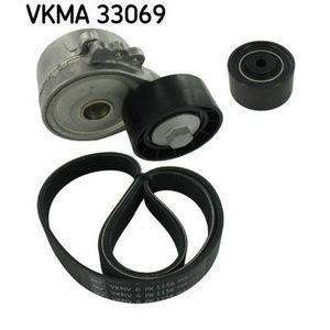 COURROIE TRAPÉZOÏDALE SKF Kit courroie d'accessoire VKMA 33069