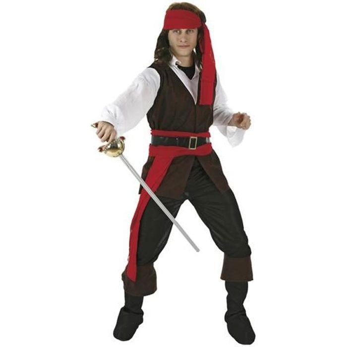 ATOSA - Déguisement Pirate Adulte - Homme