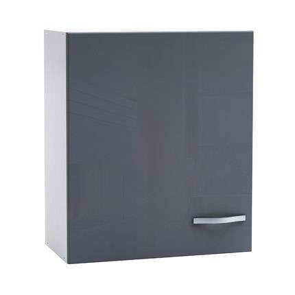 finest meuble haut de cuisine porte cm coloris g with meuble cuisine 1er prix. Black Bedroom Furniture Sets. Home Design Ideas