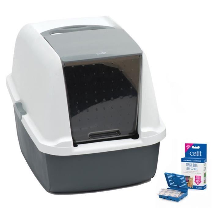 Cat It Maison De Toilette Magic Blue - Pour Chat
