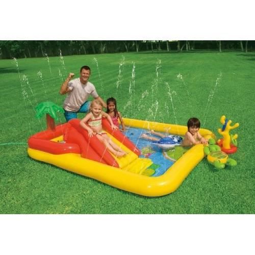 piscine aire de jeux palmier gonflable intex achat vente jeux de piscine cdiscount. Black Bedroom Furniture Sets. Home Design Ideas