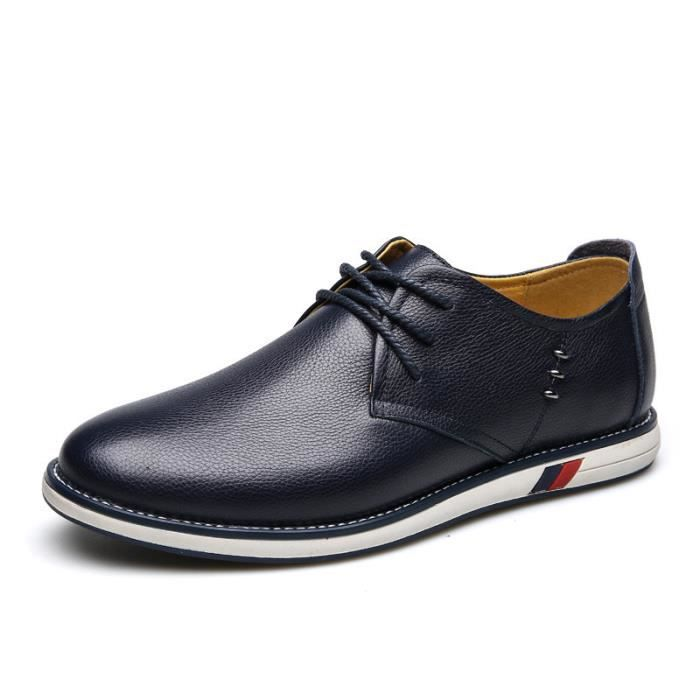 Derby Cuir Chaussure Homme NKPchMbyP