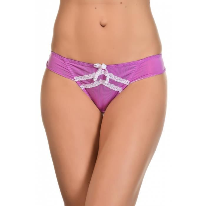 9443 s 40 String Angelina 42 Lingerie Violet Taille Couleur PHxgfwq