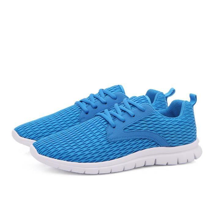 Homme gris Baskets Respirant Chaussures Plus De 46 Taille Sneaker Marque Meilleure Confortable bleu Qualité Noir Hommes Luxe Sport 38 xXHqwBU1