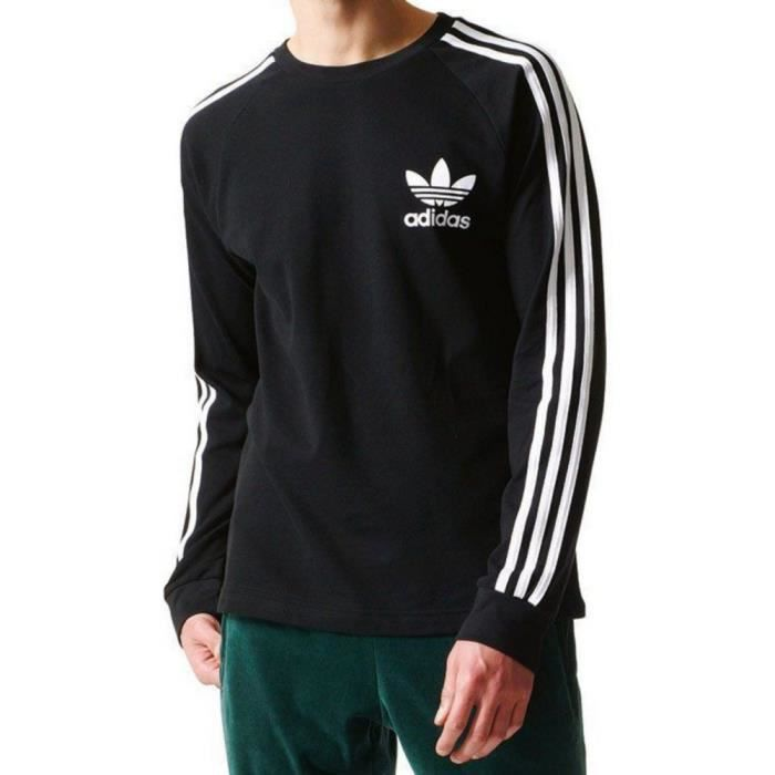 tee shirt adidas hommes manches longues
