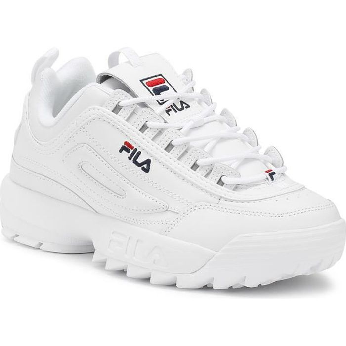 Premium Formateurs Uk Disruptor Fila Womens 8 White Ii Achat Blanc 92HIWED