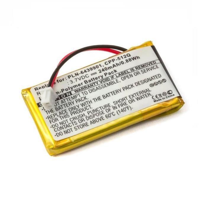 Dictaphone - Magnetophone Batterie Casque Sans Fil Plantronics W710