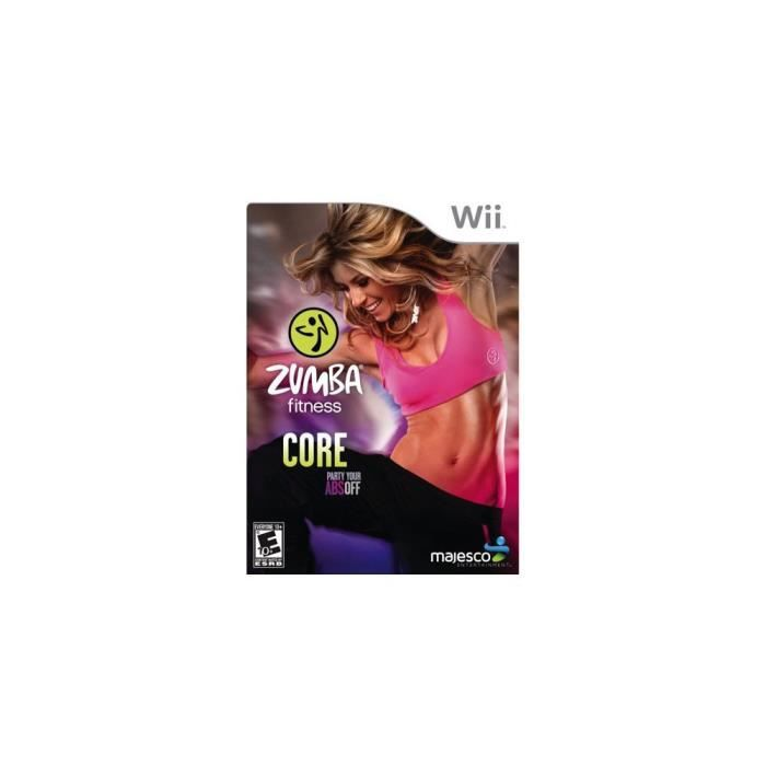 72d1248922c Third Party - Zumba fitness Core Occasion   Nintendo WII   - Achat ...