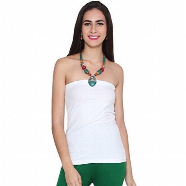 Femmes Superbe Multicolor Métal, Collier Pierres et perles pourXLLM8