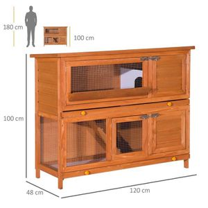 cage lapin achat vente cage lapin pas cher cdiscount. Black Bedroom Furniture Sets. Home Design Ideas