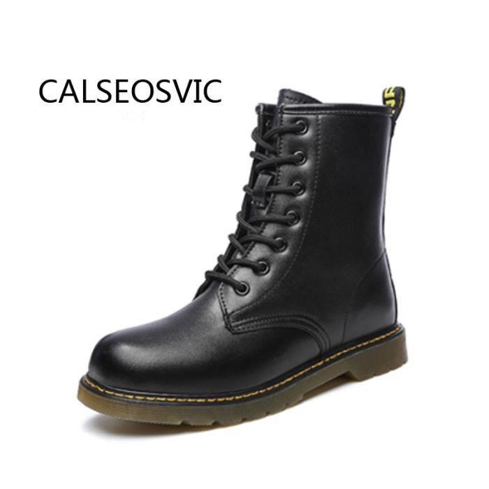 2016 Nouveau bottes chaussures Militaire Armée Chevalier Lacets Courts Des Femmes Bottes Chaussures