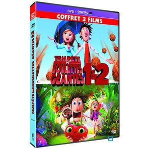 DVD DESSIN ANIMÉ Coffret DVD Tempête de boulettes géantes 1 et 2