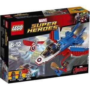LEGO Super Heroes 76076 L`Avion de Captain America