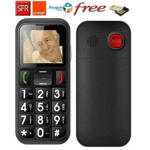 Téléphone portable Téléphone portable Senior Sos Dual Sim