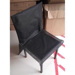 housse de chaise jetable achat vente housse de chaise jetable pas cher soldes d s le 10. Black Bedroom Furniture Sets. Home Design Ideas