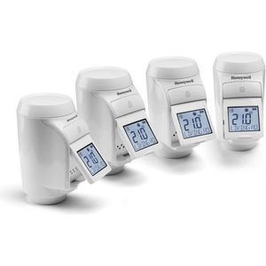 THERMOSTAT D'AMBIANCE HONEYWELL EVOHOME Pack de 4 têtes thermostatiques