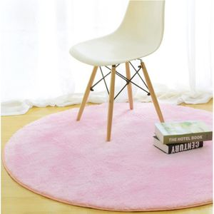 Tapis rond achat vente tapis rond pas cher cdiscount for Tapis rond chambre enfant