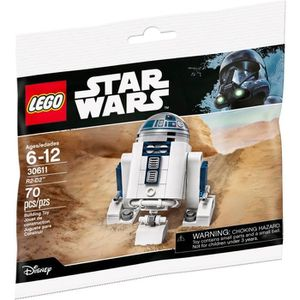 ASSEMBLAGE CONSTRUCTION LEGO STAR WARS - 30611 - R2-D2 DROID MAY THE FOURT