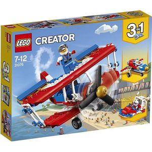 ASSEMBLAGE CONSTRUCTION LEGO® Creator 31076 L'avion de voltige à haut risq
