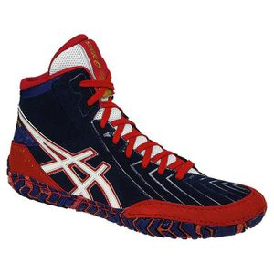 new style 183a1 a8e83 CHAUSSON - PANTOUFLE Asics Aggressor 3 Lutte chaussures TA0FM Taille-40
