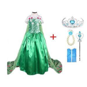 be73eeaf12bf3 ROBE 2019 nouvelle robe Elsa filles fête Vestidos Cospl