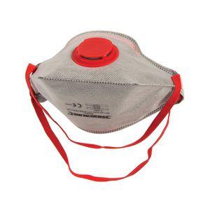 MASQUE DE PROTECTION DE CHANTIER Masque respiratoire pliable à valve FFP3  NR une un 3fdec4f589ff