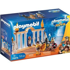 FIGURINE - PERSONNAGE PLAYMOBIL 70076 - PLAYMOBIL THE MOVIE Empereur Max